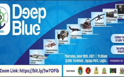 President Buhari Launches Deep Blue Project in Lagos