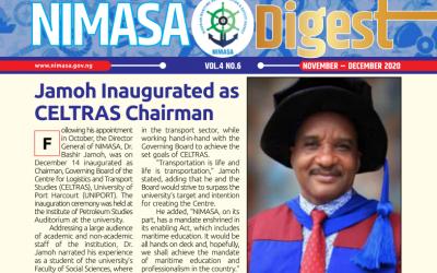Dr. Bashir Jamoh inaugurated as CELTRAS Chairman