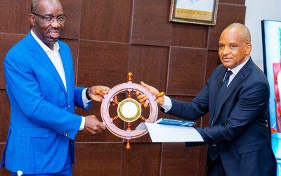 NIMASA, EDO STATE GOVERNMENT INITIATE PARTNERSHIP FOR CAPACITY DEVELOPMENT